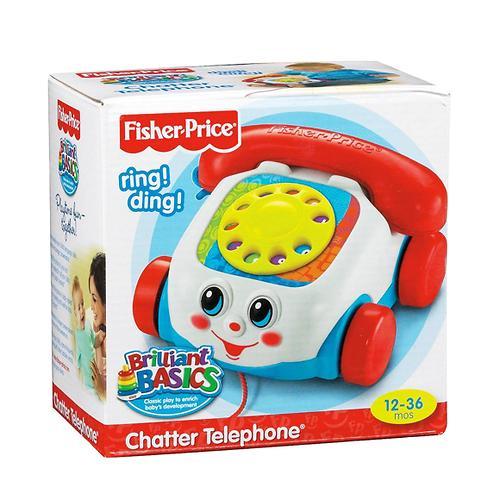 Игрушка-каталка Fisher-Price Веселый телефон (7)