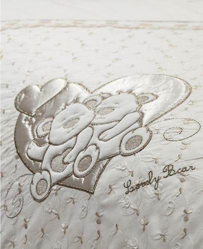 Постельное белье FunnaBaby Lovely Bear Cream 3 предмета 130х60 см (5)