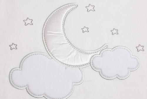 Постельное белье FunnaBaby Luna Chic White 3 предмета 120х60 см (4)