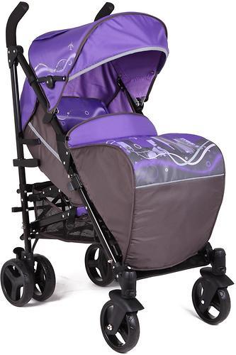 Коляска-трость Glory 3022F Fox Фиолетовый+Серый (1)