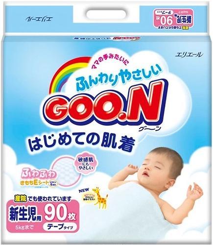 Подгузники Goon 0-5 кг NB 90 шт (3)