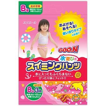 Трусики Goon плавательные Big 12-17 кг 3шт для девочек - Minim