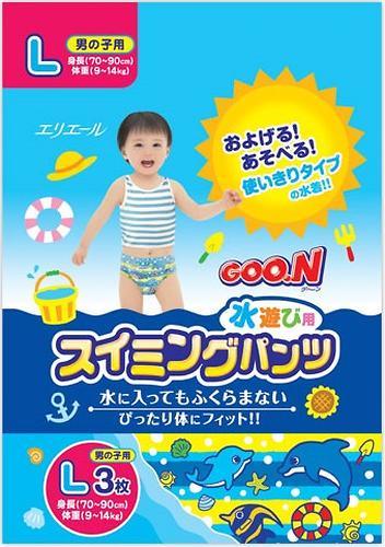 Трусики Goon плавательные L 9-14 кг 3шт для мальчиков (3)