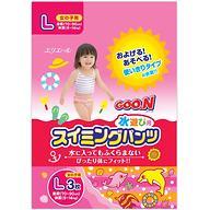 Трусики Goon плавательные L 9-14 кг 3шт для девочек