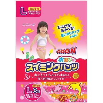 Трусики Goon плавательные L 9-14 кг 3шт для девочек - Minim