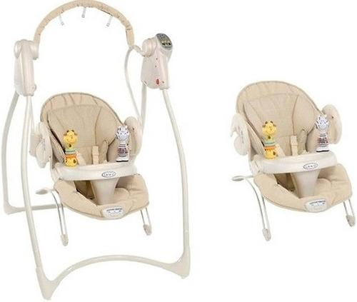 Качель Graco Swing and Bounce Benny and Bell (6)