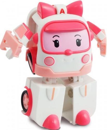 Игрушка Robocar Эмбер трансформер (12,5 см) свет + инструменты (3)