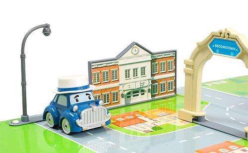 Набор Robocar Город - Мэрия с металлической машинкой Масти (9)