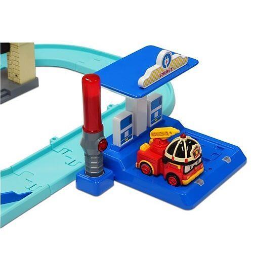 Набор Robocar Мега трек с двумя Умными машинами (9)
