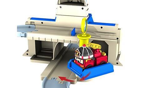 Набор Robocar Мега трек с двумя Умными машинами (10)