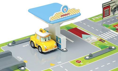 Игрушка Набор Город, почта с мостом Robocar (8)