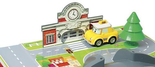 Игрушка Набор Город, почта с мостом Robocar (9)
