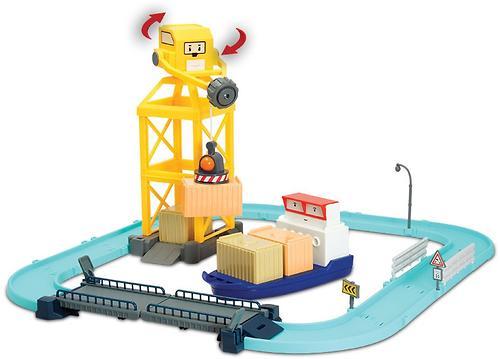 Игрушка Gulliver Порт металлическая фигурка Терри с разводным мостом (6)