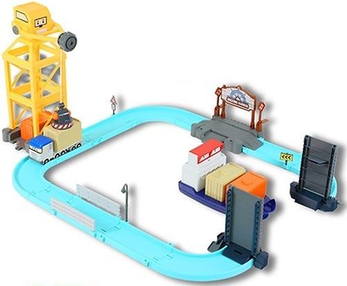 Игрушка Gulliver Порт металлическая фигурка Терри с разводным мостом (5)