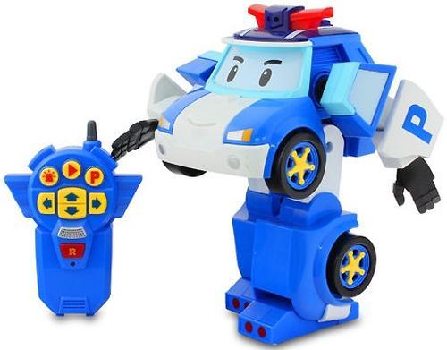 Игрушка Робот-трансормер Поли Robocar на радиоуправлении (8)