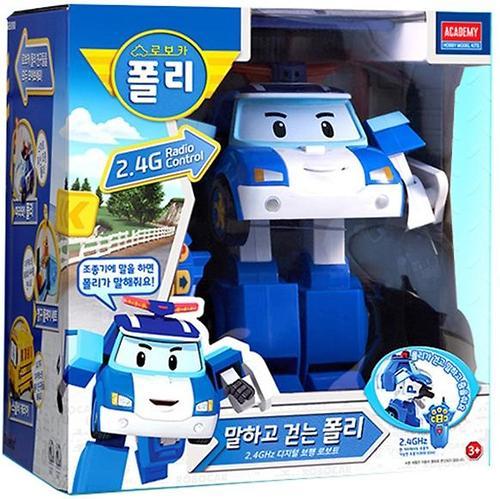 Игрушка Робот-трансормер Поли Robocar на радиоуправлении (9)