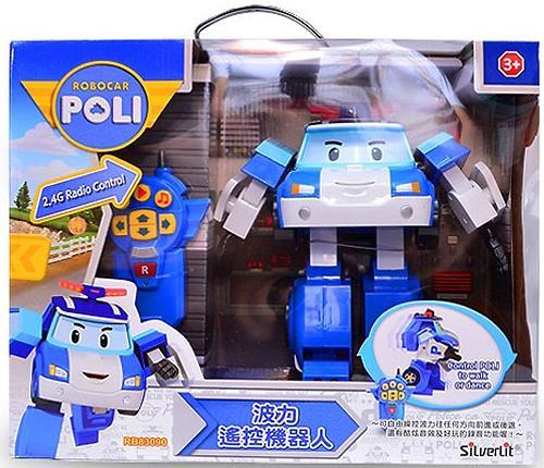 Игрушка Робот-трансормер Поли Robocar на радиоуправлении (11)