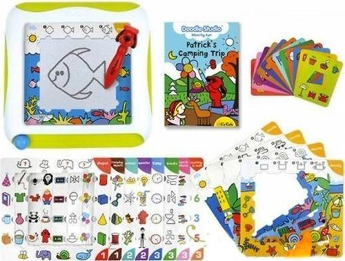 Доска для рисования с обучающими карточками K's Kids (10)