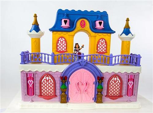 Keenway Fantasy Palace - дворец с каретой и предметами (8)