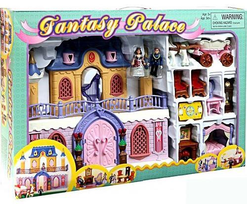 Keenway Fantasy Palace - дворец с каретой и предметами (6)