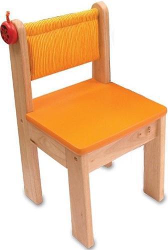 Cтульчик I M Toy детский деревянный оранжевый (2)