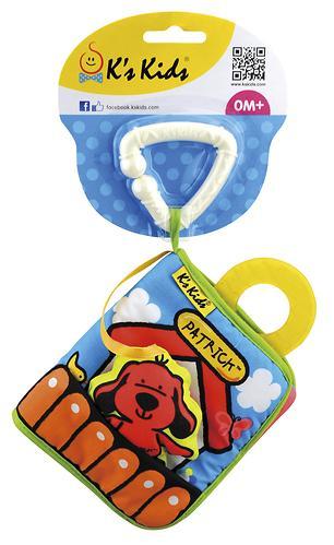 """Книжка-игрушка Ks'kids Patrick """"Первая книжка"""" (6)"""