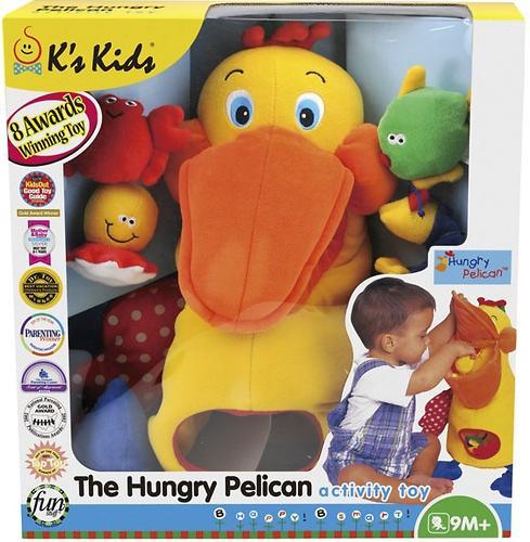 K\'s Kids Голодный пеликан с игрушками (5)