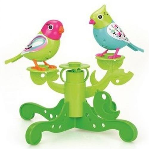 Две птички с деревом DigiBirds в ассортименте (12)