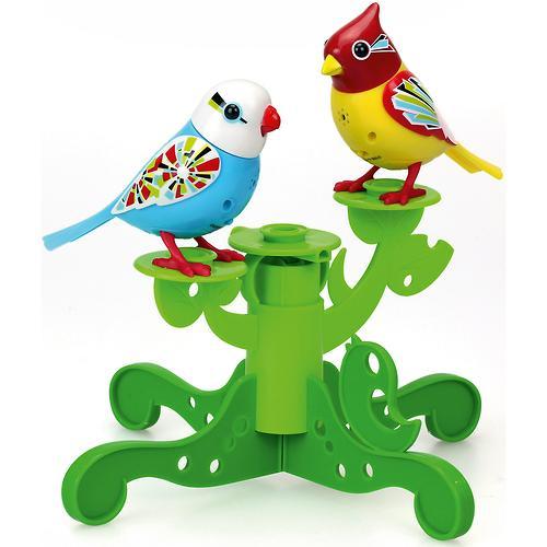 Две птички с деревом DigiBirds в ассортименте (10)
