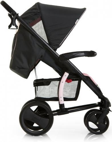 Коляска прогулочная Hauck Malibu XL Черно-розовая (7)