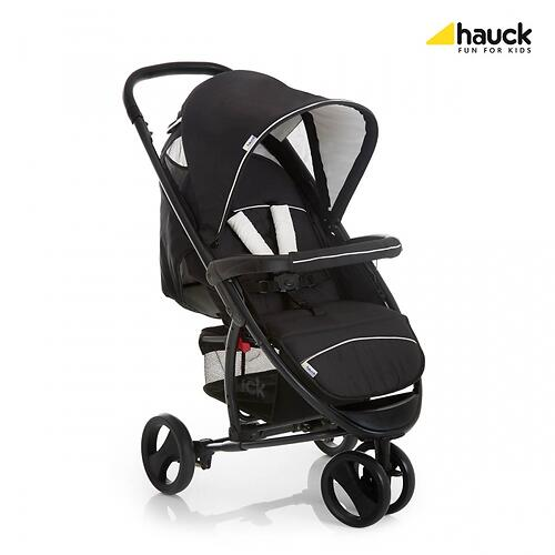 Коляска Hauck Miami 3S SLX Черно-серая (8)