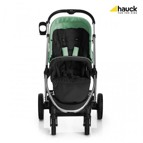 Коляска 3в1 Hauck Priya Чёрно-зеленая (20)