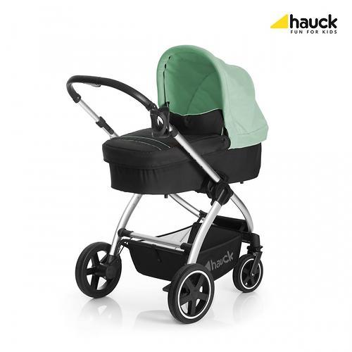 Коляска 3в1 Hauck Priya Чёрно-зеленая (13)