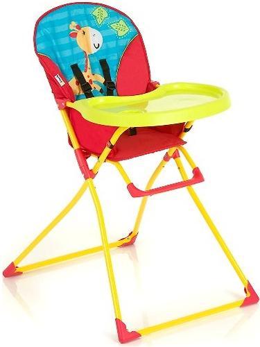 Стульчик Hauck Mac Baby красно-желтый (1)