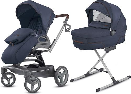 Коляска Inglesina 2в1 Quad Duo Oxford Blue (11)