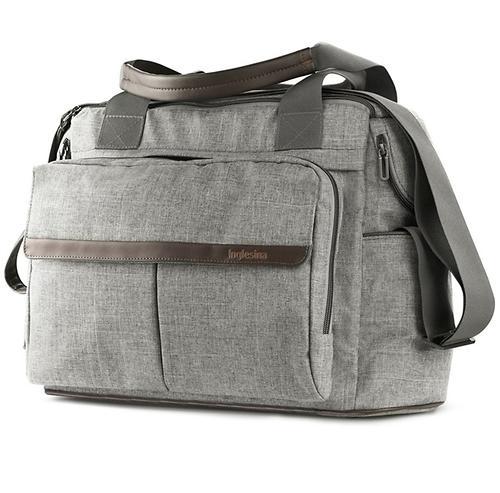 Сумка для мамы Inglesina Dual Bag Minera Grey (6)