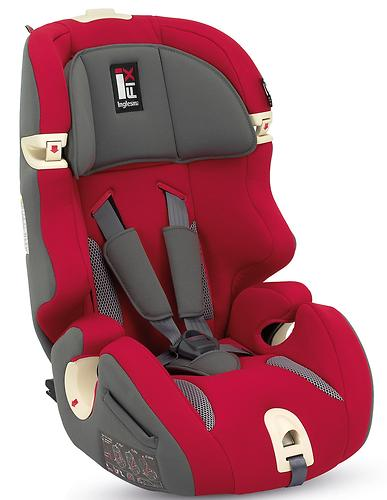 Автокресло Inglesina Prime Miglia i-fix Red (7)