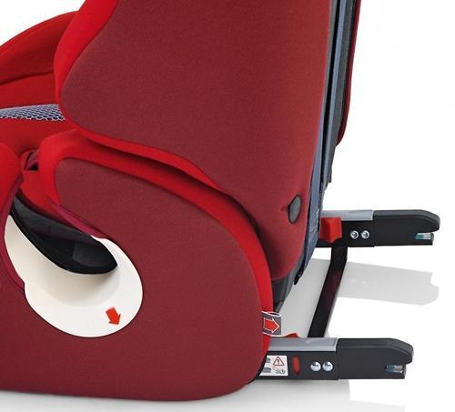 Автокресло Inglesina Prime Miglia i-fix Red (9)