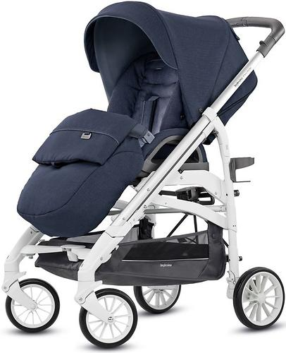 Коляска Inglesina 2в1 Trilogy Duo Inperial Blue (15)