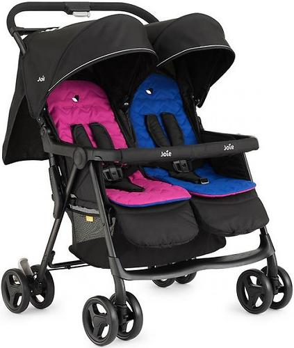 Коляска прогулочная Joie Aire Twin Pink & Blue (8)