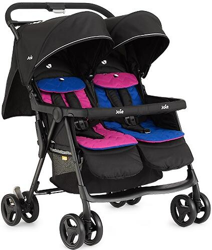 Коляска прогулочная Joie Aire Twin Pink & Blue (9)