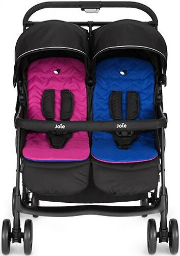 Коляска прогулочная Joie Aire Twin Pink & Blue (10)