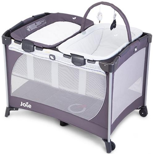 Манеж Joie Playard Commuter Change and Snooze Khloe and Bert Gray (9)