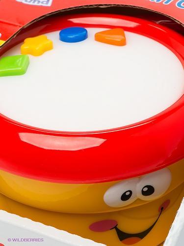Игрушка Kiddieland Музыкальная Мой первый барабан (4)