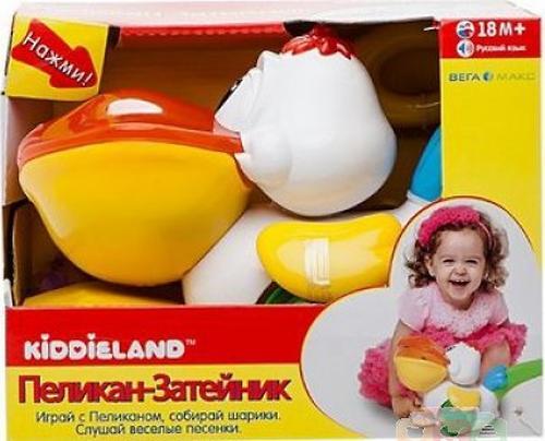 Kiddieland Музыкальная каталка-пеликан (6)