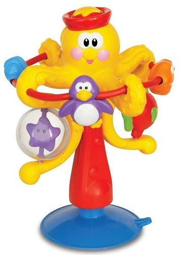 Kiddieland Развивающая игрушка на присоске Осьминог (1)