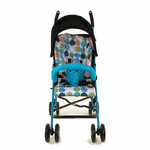 Коляска-трость Mobility One A0770 Черно-голубая (7)