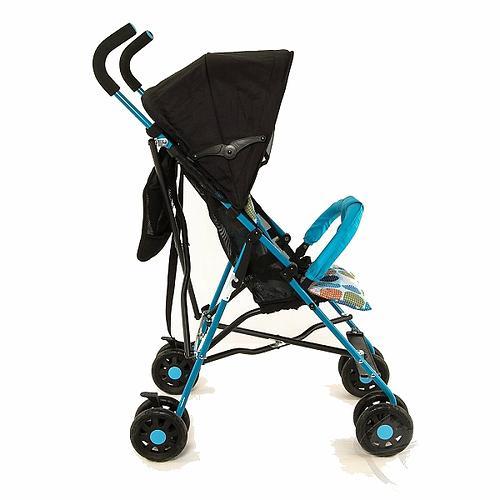 Коляска-трость Mobility One A0770 Черно-голубая (9)
