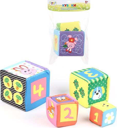 Набор кубиков Leader Kids LUCKY STAR 6+мес (1)