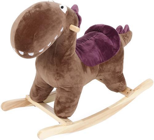 Качалка-игрушка Leader Kids Динозаврик озвученный 35 см Коричневый (1)
